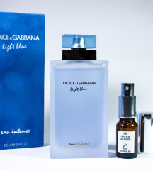D&G Light Blue Eau Intense - Dekant 5/10/20ml