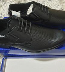 AKCIJA!!! Muske crne cipele br. 42/43 - NOVE