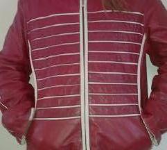 Bordo- bez kozna jakna