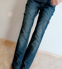 Farmerke DENIM SKINNY dzeparice