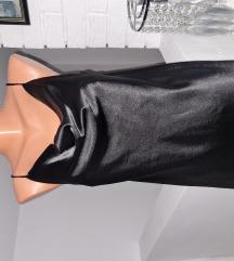 Satenska majica crna