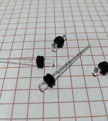 Prosirivaci za usi + plagovi 2.5mm
