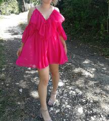 Leprsava ciklama haljina NOVO