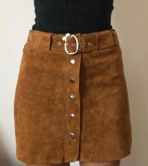 Zara kozna suknja - NOVO sa etiketom sada 4199 din