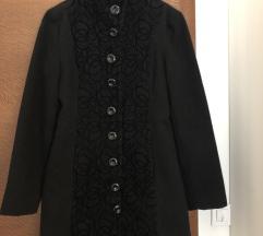 Crni klasican  kaput POPUST 1500