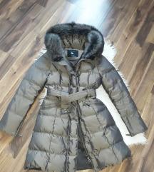 Zara jakna pravo krzno