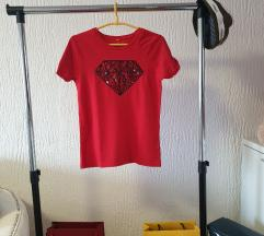 Adidas nova Crvena majica