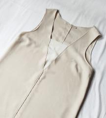 Zara bež haljina