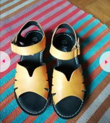 Sandalice žute