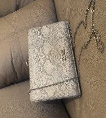 DOCA sivo srebrna torbica