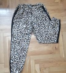 Animal print pantalone/trenerka