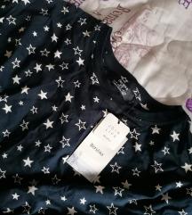 BERSHKA majica zvezdice NOVO