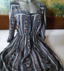 Boho pamučna haljinica