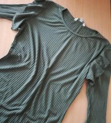Maslinasto zelena majica sa karnerima