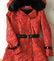 MONA jakna sa prirodnim krznom, povoljno