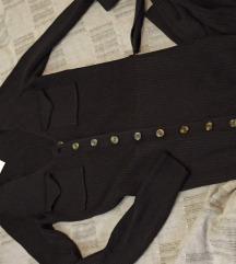 Zara haljina od rebraste trikotaže S NOVO