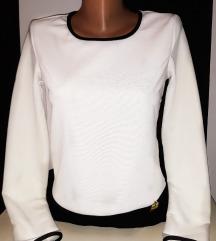 Click Fashion crno - bela haljina