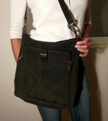 Roncato Vivendo kvalitetna ženska crna torba