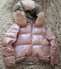 Roze jakna sa dva lica