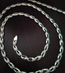 Srebrni lancic, ogrlice,narukvice, novo