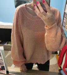 H&M baggy džemper, Vel. M
