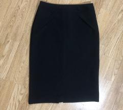 Zara suknja crna S nova