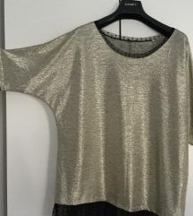Zlatno srebrna bluza - NOVA