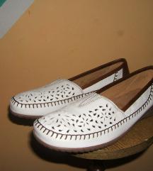 Kožne cipele mokasine Gabor  39,5 ručni rad Nove