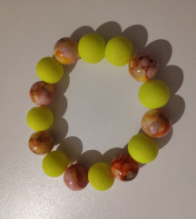 Žuto-narandžasta narukvica