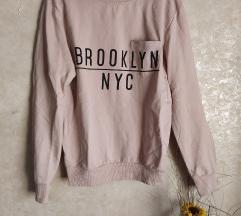 Puder roze, Brooklyn dukserica. NOVO!