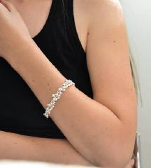 Nova boho narukvica - srebro 925