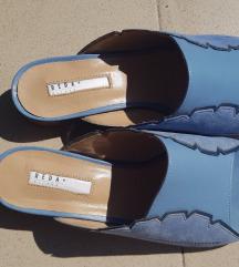 %7.800Reda Milano kožne papuče, novo