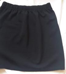 TOTALNA RASPRODAJA Crna AMISU suknja 34