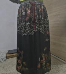 Duga prelepa suknja