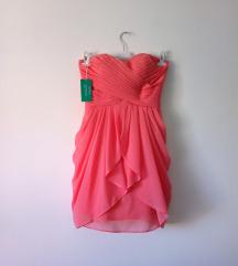 Rezz CORAL haljina sa pertlanjem
