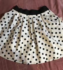 Zara suknja polka dot