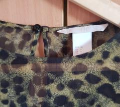 H&M bluza kao nova print xs