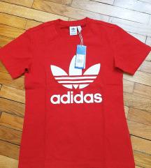 Original adidas crvena majica sa etiketom