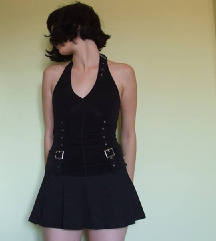 Punk  rock crna suknja