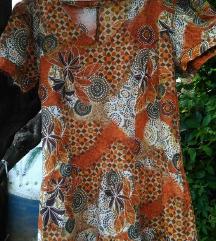 Vintage letnja pamucna haljina