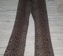 YES NO animal print 40 pantalone