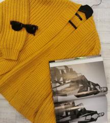 Zuti džemper S