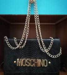 Crna manja torba replika Moschino