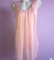 Roze tunika/haljina od viskoze
