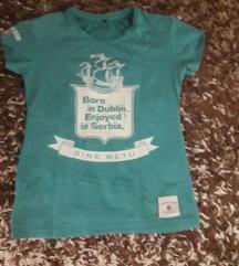zeleno plava majica M