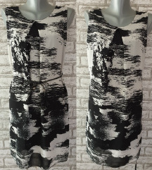 NOVA Crno siva tunika/majica