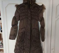 Zimska strukirana dugacka jakna