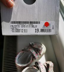 Falcotto kožne sandalice za bebe