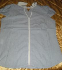 PS Fashion plavo bela kosulja 42, nova
