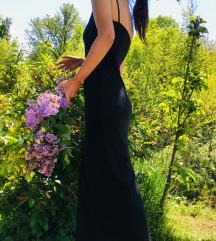 Crna duga haljina 999din